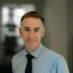 Portrait of staff member Iain Roberts