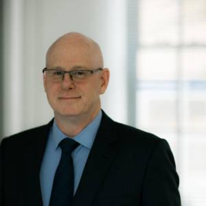 Portrait of staff member Steve Slade