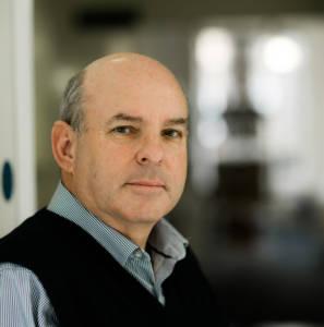 Portrait of staff member Clive Ledger
