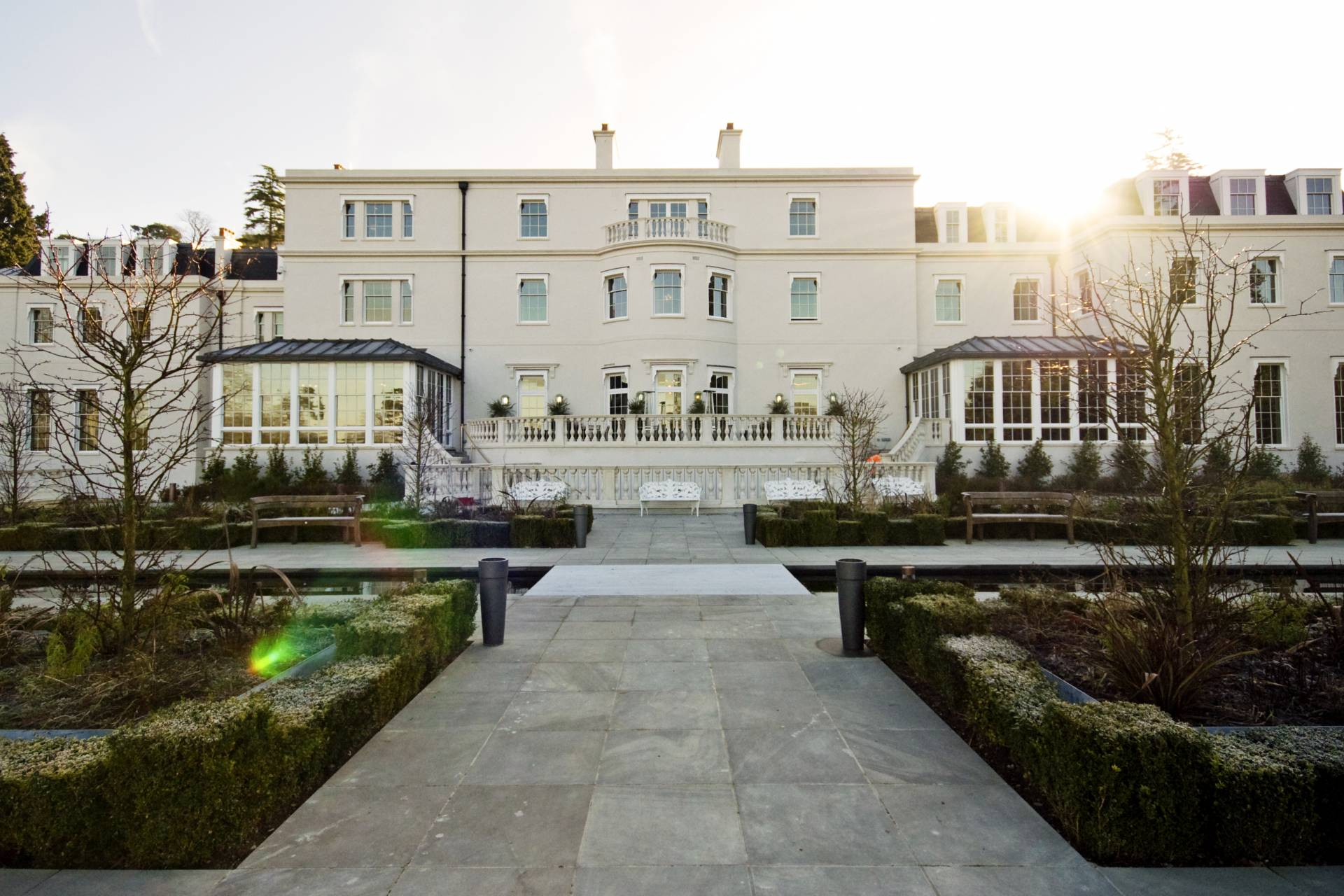 Coworth Park external facade and grounds