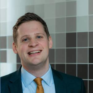 Portrait of staff member Martin Smith