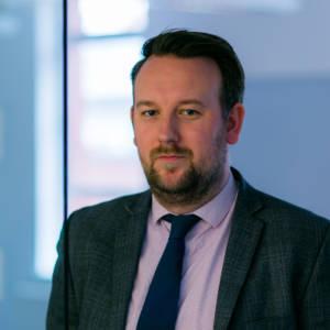 Portrait of staff member Matthew Keegans-Wood