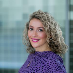 Portrait of staff member Natalie Barber