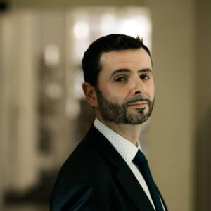 Portrait of staff member Stuart Flaxton