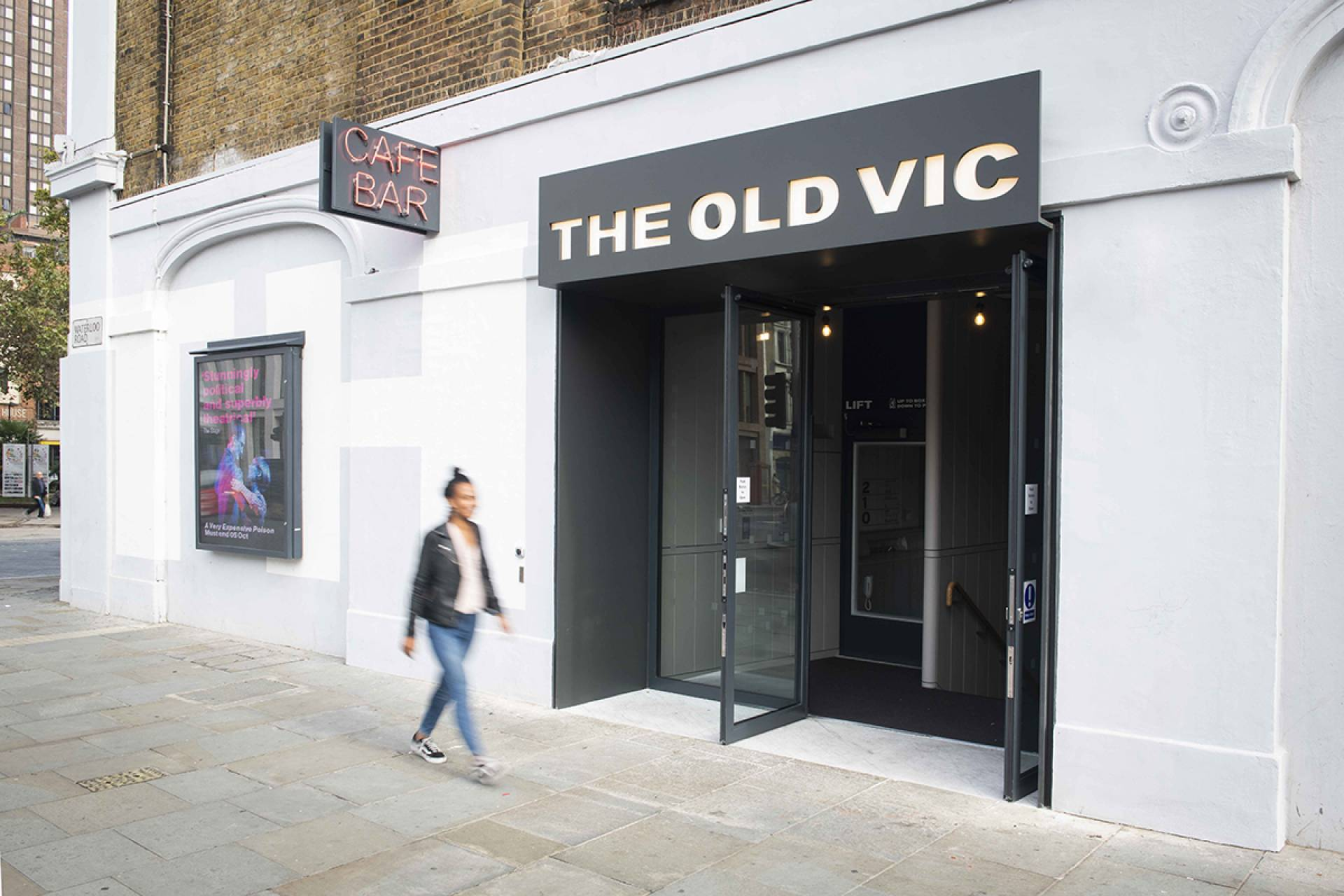 The Old Vic Cafe Entrance