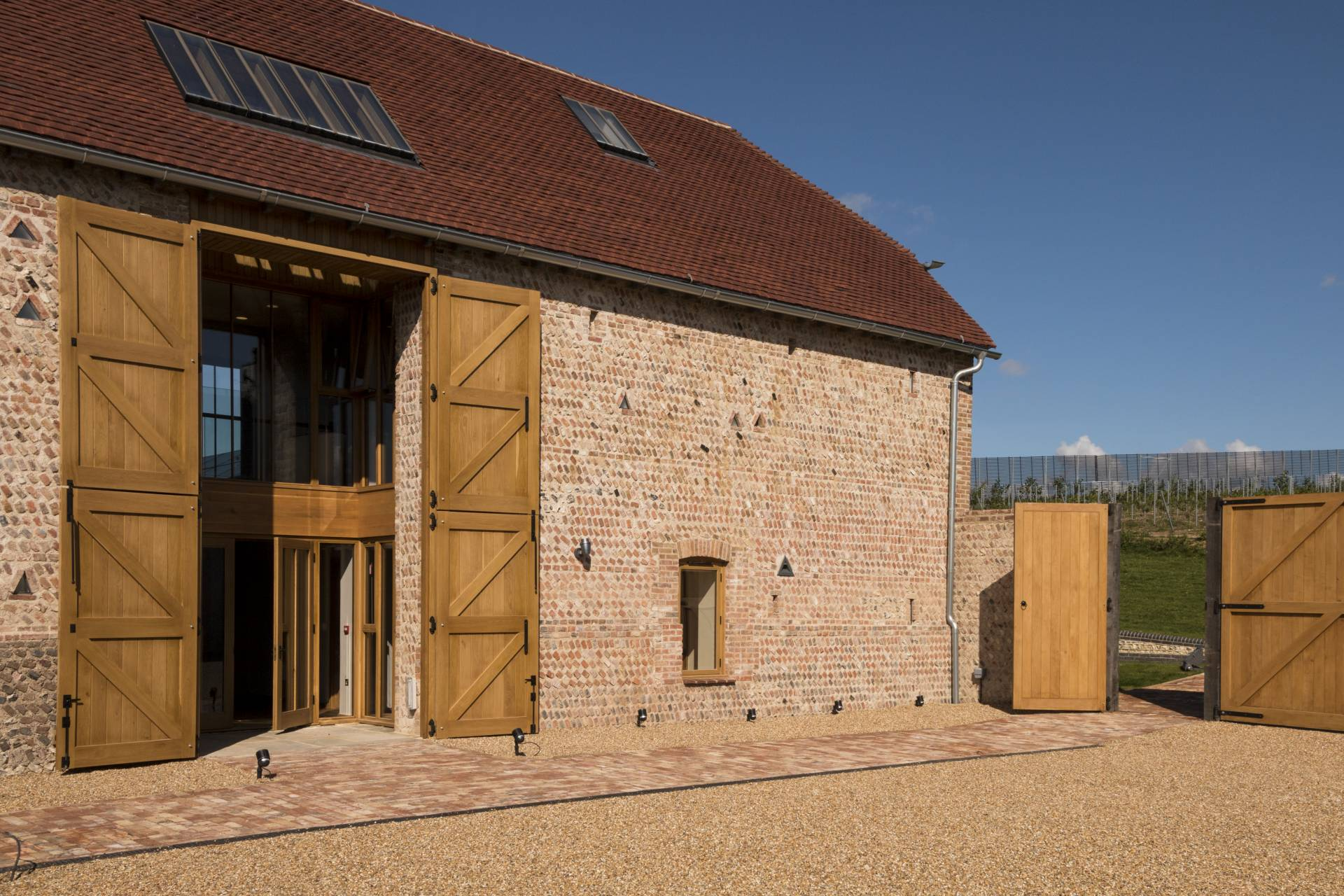 Rathfinny Winery barn