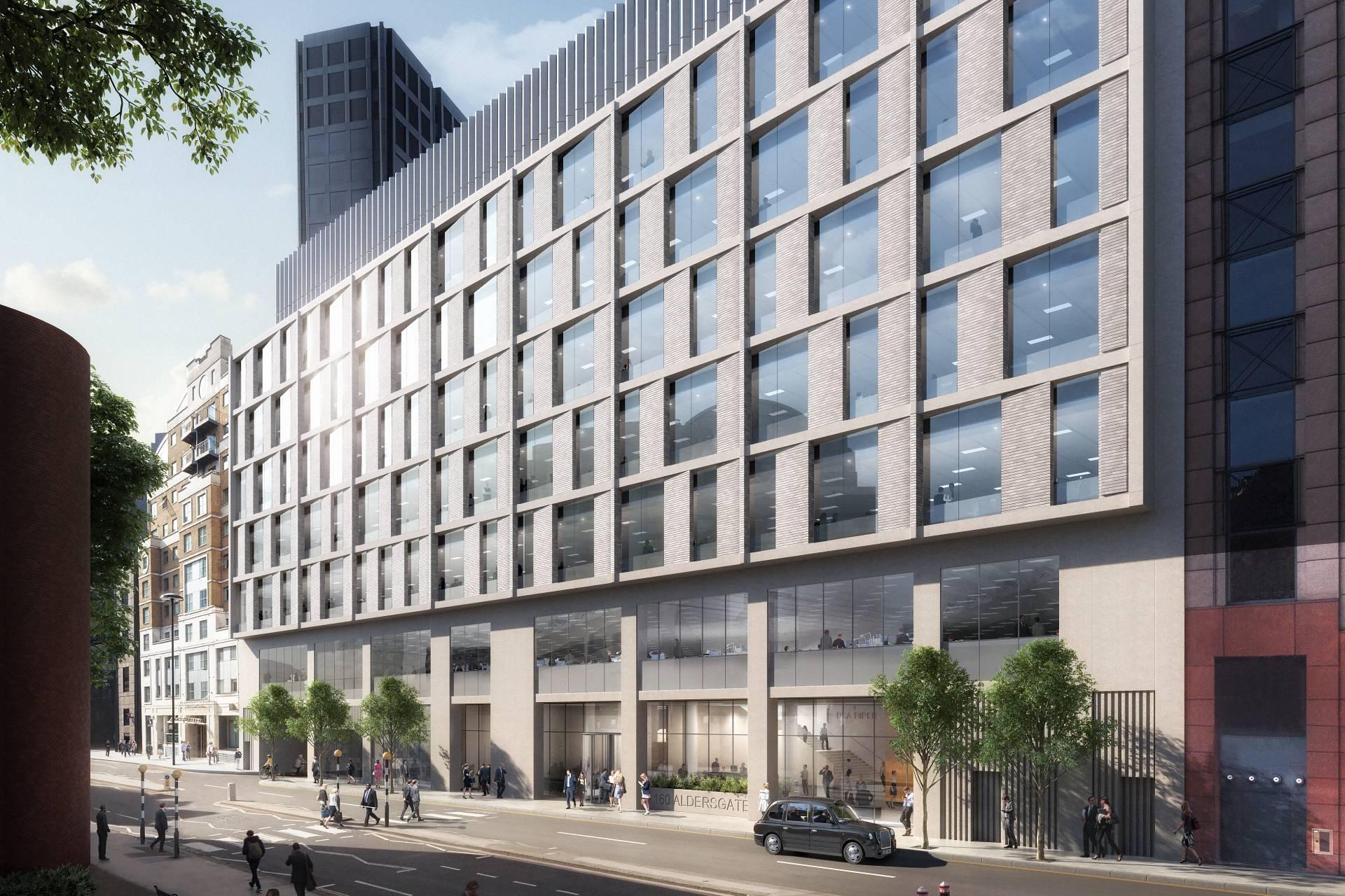 160 Aldersgate external facade