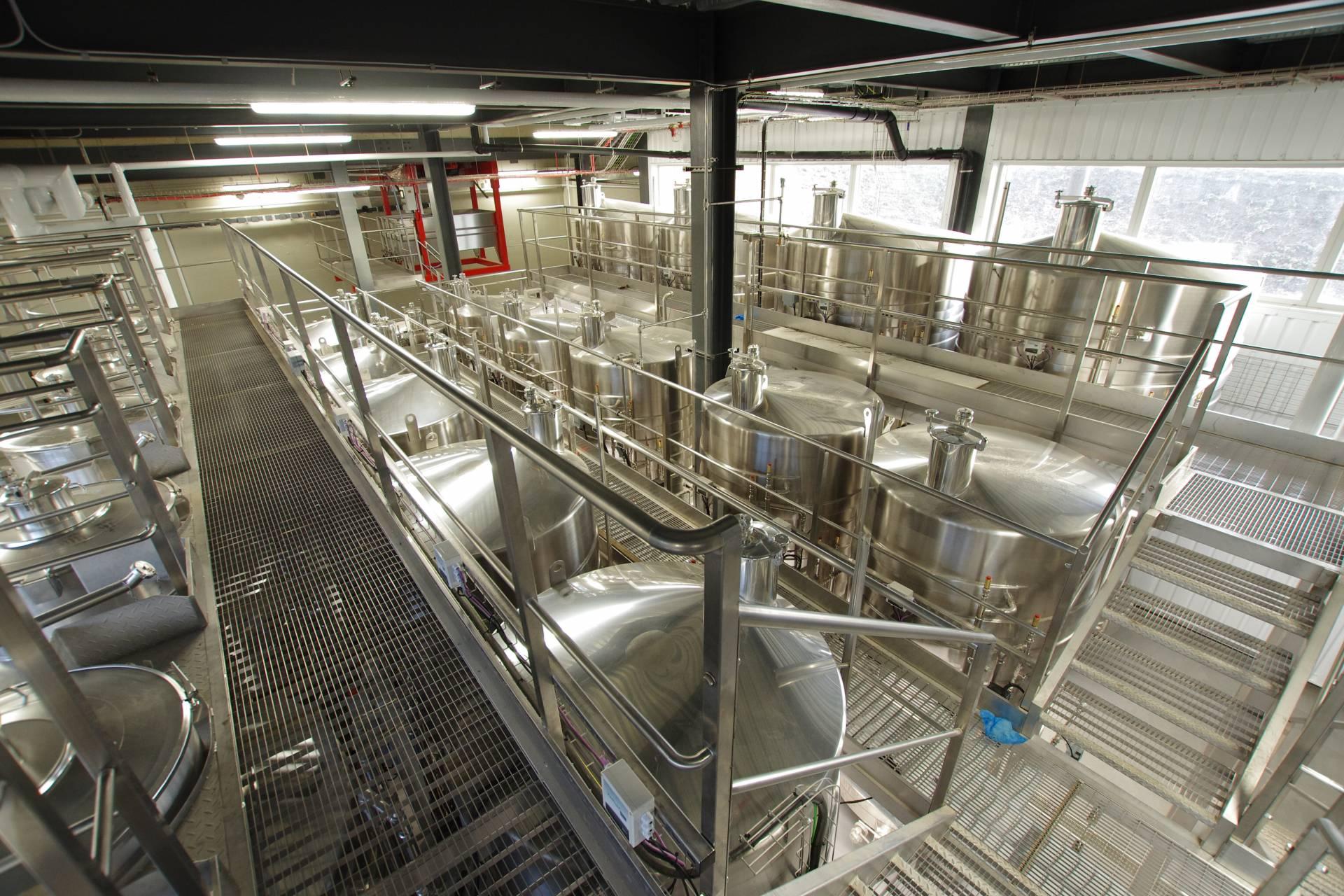 Rathfinny Winery wine storage facilities