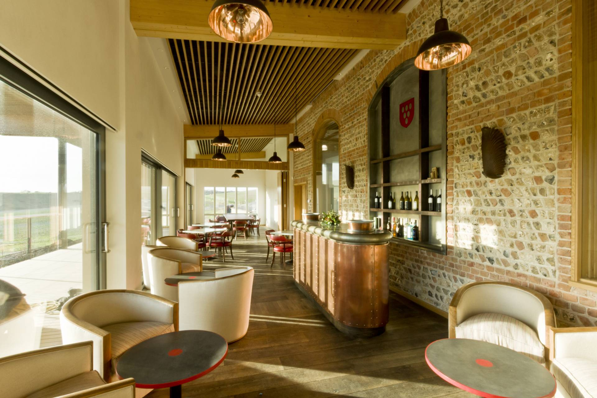 Rathfinny Winery bar and restaurant
