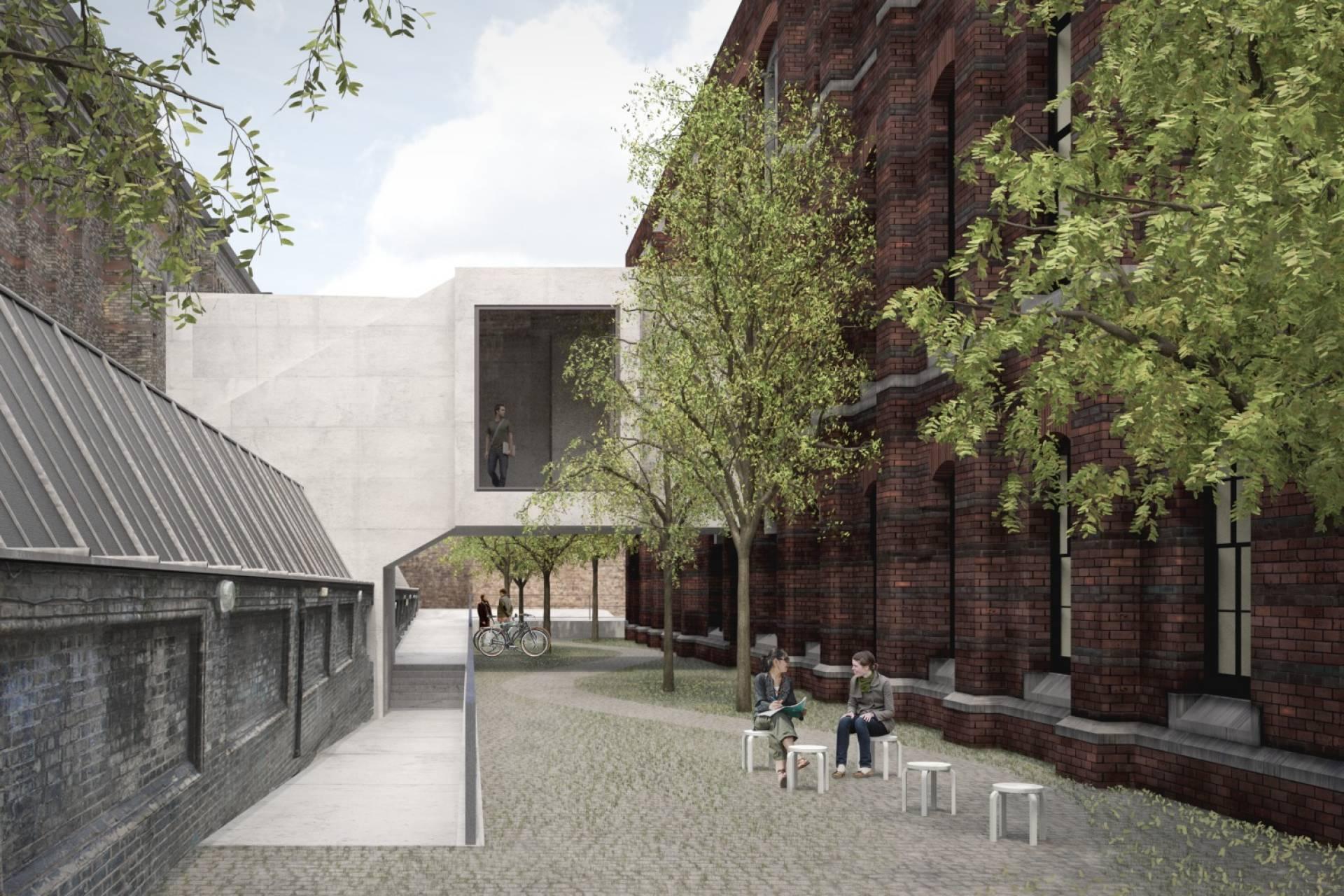 Royal Academy of Arts schools courtyard